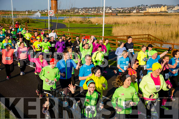 Darren Truslove participants in the Kerry's Eye Valentines Weekend 10 mile road race on Sunday.