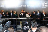 SÃO PAULO, SP, 25.07.2019 - POLITICA-SP - João Doria, Governador de São Paulo, e Bruno Covas, Prefeito de São Paulo, participam da inauguração do novo prédio da Junta Comercial do Estado de São Paulo (Jucesp), nesta quinta-feira, 25. ( Foto Charles Sholl/Brazil Photo Press/Folhapres)