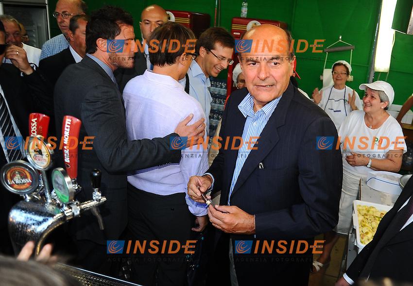 Pier Luigi Bersani<br /> Genova 03-09-2013 Festa Nazionale Partito Democratico<br /> Photo  Genova Foto /Insidefoto