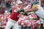 Wisconsin Badgers defensive lineman Conor Sheehy (94) during an NCAA College Big Ten Conference football game against the Iowa Hawkeyes Saturday, November 11, 2017, in Madison, Wis. The Badgers won 38-14. (Photo by David Stluka)
