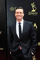 PASADENA - APR 29: Daniel Goddard at the 45th Daytime Emmy Awards Gala at the Pasadena Civic Center on April 29, 2018 in Pasadena, California