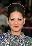 "WESTWOOD, CA. - June 23: Actress Marion Cotillard arrives at the 2009 Los Angeles Film Festival's premiere of ""Public Enemies"" at the Mann Village Theatre on June 23, 2009 in Westwood, Los Angeles, California."