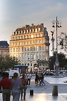 Maison du Vin, House of Wine, CIVB office on Allees de Tourny and Place de la Comedie. Bordeaux city, Aquitaine, Gironde, France
