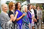 Former Roses at the unveiling of the Rose monument in Tralee Town Park on Thursday were l-: Therese Gillespie (1965) Ciara O'Sullivan (1962) Josie Ruane (1961) Muirne Hurley (1994) Sinead Boyle (1989) Alice O'Sullivan (1959) Nicola McEvoy (2012 Rose of Tralee) Denise O'Sullivan (1991) Kirsty O'Shea (1993) Veronica McCambridge Blennerhassett (1973) and Ann Foley (1967).