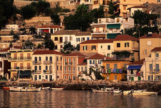 GREECE, PARGA, PORT