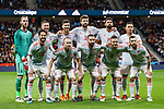 Spain squad pose for team photo during the International Friendly 2018 match between Spain and Argentina at Wanda Metropolitano Stadium on 27 March 2018 in Madrid, Spain. Photo by Diego Souto / Power Sport Images