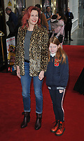 "Lucy Montgomery and her daughter at the ""Where Is Peter Rabbit?"" musical press night, Theatre Royal Haymarket, Suffolk Street, London, England, UK, on Tuesday 09th April 2019.<br /> CAP/CAN<br /> ©CAN/Capital Pictures"
