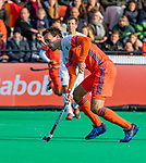 ROTTERDAM - Diede van Puffelen (NED)    tijdens   de Pro League hockeywedstrijd heren, Nederland-Spanje (4-0) . COPYRIGHT KOEN SUYK
