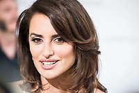 Penelope Cruz present new Carpisa store in Madrid.