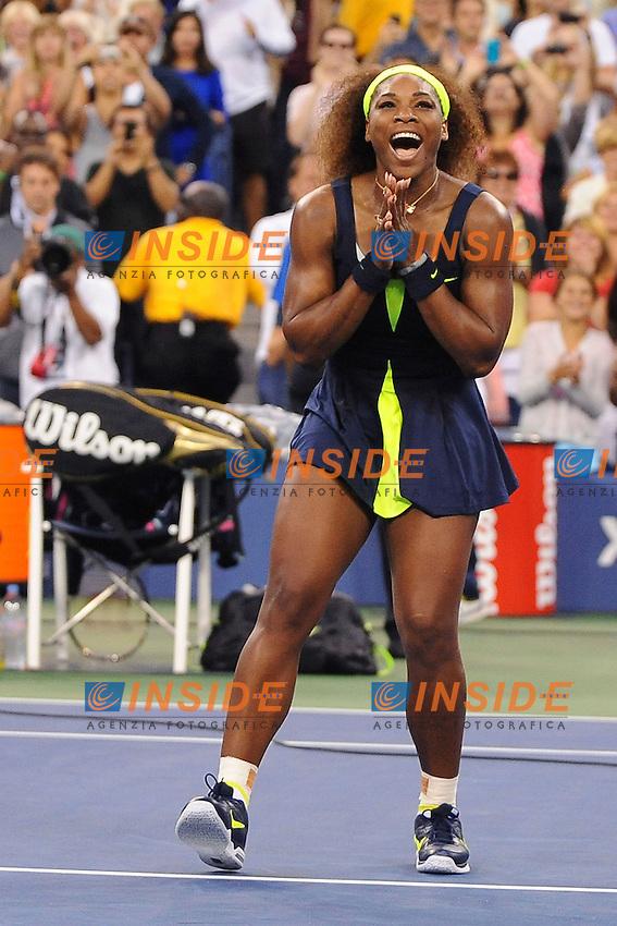 Serena Williams (USA) .Flushing Meadows 9/9/2012 .Tennis Us Open Grande Slam.Finale Torneo Femminile.Foto Insidefoto / Virginie Bouyer / Panoramic.ITALY ONLY
