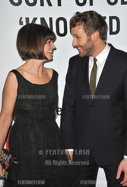 """Chris O'Dowd & wife Dawn Porter at the world premiere of his movie """"This Is 40"""" at Grauman's Chinese Theatre, Hollywood..December 12, 2012  Los Angeles, CA.Picture: Paul Smith / Featureflash"""