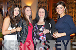 Pictured at Kerry Fashion Weekend Fashion Show on Friday night in the Carlton hotel, Tralee were l-r: Cliodhna McSweeney (Killorglin) Aisling McSweeney (Killorglin) Mary McSweeney (Killorglin) and Sinead Griffin (Killorglin).