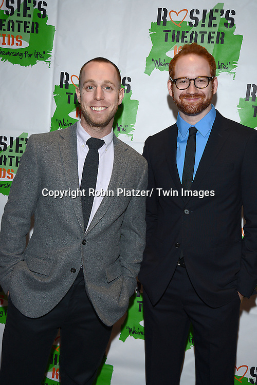 Marc Kimelman and David Alpert attend Rosie's Theater Kids 10th Anniversary Gala on September 25, 2013 at the Marriott Marquis Hotel in New York City. The event is hosted by Rosie O' Donnell.