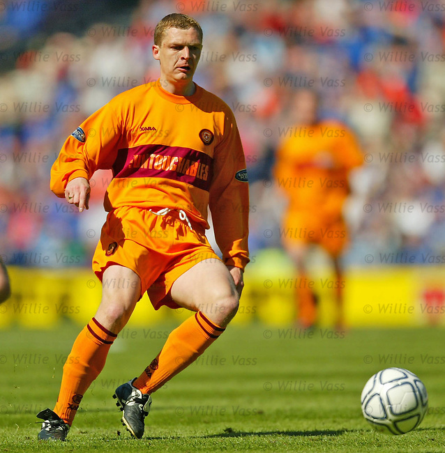 Martyn Corrigan, Motherwell.Stock season 2003-2004.pic willie vass