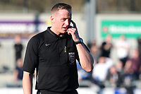 Referee, Mr Scott Jackson during Dartford vs Woking, Vanarama National League South Football at Princes Park on 23rd February 2019