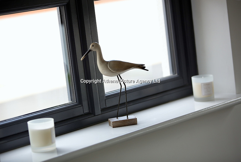 Pictured: A bird ornament in the living room Wednesday 26 April 2017<br /> Re: Waterstone Homes' most recent property development Howell's Reach, is in Derwen Fawr, Swansea and is made up of 13 luxury family homes, and also includes five affordable homes.