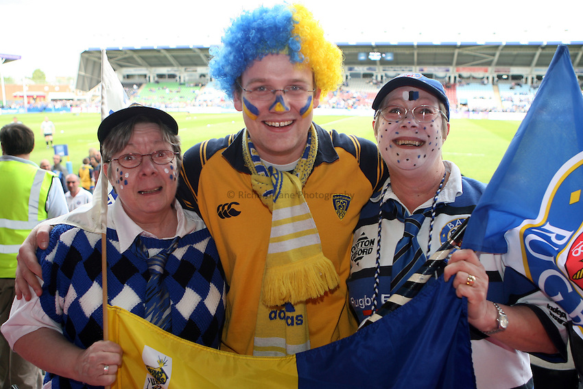 Photo: Rich Eaton...Bath Rugby v Clermont Auvergne. European Challenge Cup Final. 19/05/2007. Clermont and Bath fans enjoy the atmosphere.