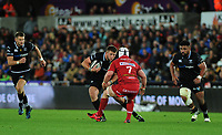 Ospreys' Scott Otten in action during todays match<br /> <br /> Photographer Ashley Crowden/CameraSport<br /> <br /> Guinness Pro14 Round 6 - Ospreys v Scarlets - Saturday 7th October 2017 - Liberty Stadium - Swansea<br /> <br /> World Copyright &copy; 2017 CameraSport. All rights reserved. 43 Linden Ave. Countesthorpe. Leicester. England. LE8 5PG - Tel: +44 (0) 116 277 4147 - admin@camerasport.com - www.camerasport.com