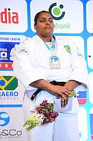 RIO DE JANEIRO, RJ,31 DE AGOSTO DE 2013 -CAMPEONATO MUNDIAL DE JUDÔ RIO 2013- A brasileira Maria Suelen Altheman conquistou a medalha de prata na categoria +78kg no Mundial de Judô Rio 2013, no Maracanazinho de 26 de agosto a 01 de setembro, zona norte do Rio de Janeiro.FOTO:MARCELO FONSECA/BRAZIL PHOTO PRESS