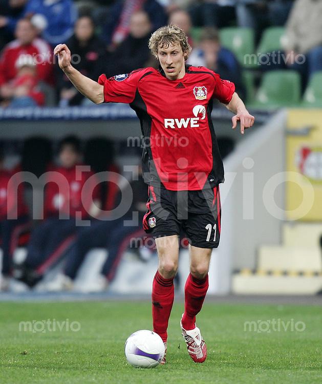 Fussball   International Uefa-Cup   Saison 2006/2007 Stefan KIESSLING (Bayer 04 Leverkusen), Einzelaktion am Ball