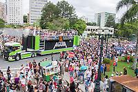 CURITIBA, PR, 01 DE DEZEMBRO 2013 – PARADA DA DIVERSIDADE LGBT-  Parada levam milhares de pessoas as ruas de Curitiba com muita irreverência na tarde deste domingo (01), centro da cidade, em ato pela diversidade cultural. (FOTO: PAULO LISBOA  / BRAZIL PHOTO PRESS)