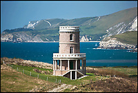 Windswept tower revealed as Britain's favourite getaway.