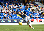 St Johnstone v East Fife…14.07.18…  McDiarmid Park    League Cup<br />Liam Craig scores in the penalty shoot out<br />Picture by Graeme Hart. <br />Copyright Perthshire Picture Agency<br />Tel: 01738 623350  Mobile: 07990 594431