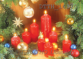 Helga, CHRISTMAS SYMBOLS, photos, red candles, balls(DTTH14170,#XX#)
