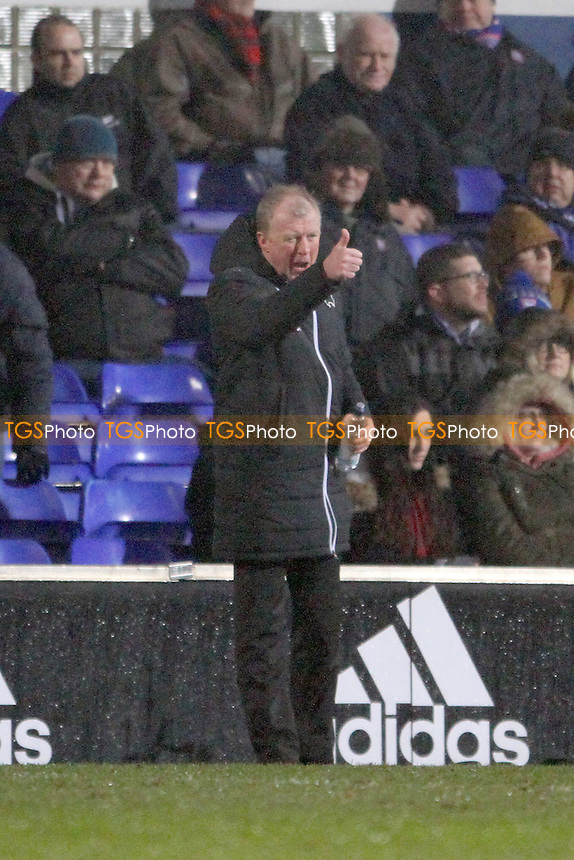Derby County manager Steve McClaren during Ipswich Town vs Derby County, Sky Bet EFL Championship Football at Portman Road on 31st January 2017