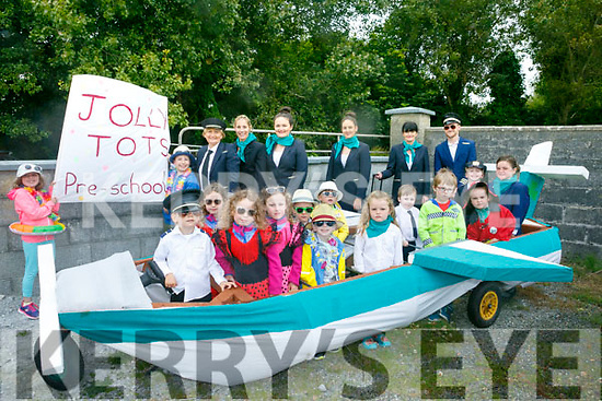 Jolly Tots Pre-School at the Ballyheigue Summer Festival Grand Parade on Sunday