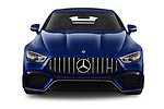 Car photography straight front view of a 2019 Mercedes Benz AMG-GT 63-S 5 Door Hatchback