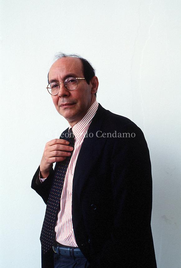 2000: PROF. FRANCISCO RICO, ED. EINAUDI © Leonardo Cendamo