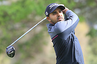 Khalin H Joshi (IND) in action on 1st tee during the second round of the Magical Kenya Open presented by ABSA played at Karen Country Club, Nairobi, Kenya. 15/03/2019<br /> Picture: Golffile | Phil Inglis<br /> <br /> <br /> All photo usage must carry mandatory copyright credit (&copy; Golffile | Phil Inglis)