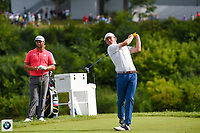 Brandt Snedeker (USA) watches his tee shot on 18 during Rd4 of the 2019 BMW Championship, Medinah Golf Club, Chicago, Illinois, USA. 8/18/2019.<br /> Picture Ken Murray / Golffile.ie<br /> <br /> All photo usage must carry mandatory copyright credit (© Golffile | Ken Murray)
