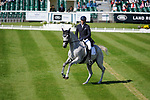 Stamford, Lincolnshire, United Kingdom, 5th September 2019, William Coleman (USA) & Tight Lines during the Dressage Phase on Day 1 of the 2019 Land Rover Burghley Horse Trials, Credit: Jonathan Clarke/JPC Images