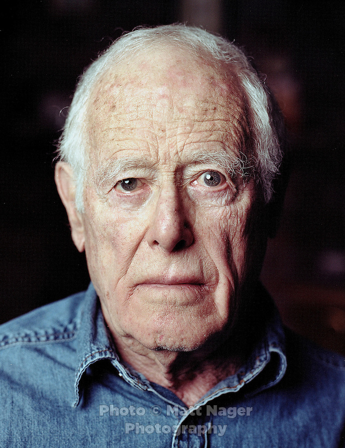 Author James Salter (cq) at his Aspen, Colorado home, Tuesday, March 19, 2013. At age 87 Salter, an American writer and veteran fighter pilot who fought in the Korean War, is releasing a new book titled All That Is...Photo by Matt Nager