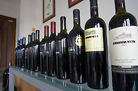 Range of Alpha wines. Alpha Estate Winery, Amyndeon, Macedonia, Greece