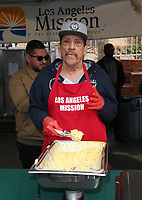 21 December 2018 - Los Angeles, California - Danny Trejo. Los Angeles Mission Christmas Meal for the Homeless held at Los Angeles Mission. Photo Credit: F. Sadou/AdMedia