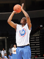 G/F Maurice Hubbard (Chantilly, VA / Westfield)shoots the ball during the NBA Top 100 Camp held Friday June 22, 2007 at the John Paul Jones arena in Charlottesville, Va. (Photo/Andrew Shurtleff)