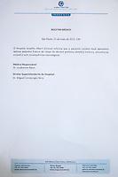 SÃO PAULO, SP - 25.05.2015 - LUCIANO-ANGELICA - Boletim Medico do apresentador Luciano Huck emitido pelo Hospital Albert Einstein, na zona sul de São Paulo, nesta segunda-feira,24.  (Foto: Douglas Pingituro / Brazil Photo Press)