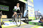 Julien Vermote (BEL) Team Dimension Data at sign on before the 2019 E3 Harelbeke Binck Bank Classic 2019 running 203.9km from Harelbeke to Harelbeke, Belgium. 29th March 2019.<br /> Picture: Eoin Clarke | Cyclefile<br /> <br /> All photos usage must carry mandatory copyright credit (© Cyclefile | Eoin Clarke)
