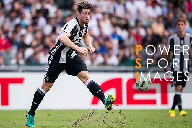 Juventus' player Alberto Cerri in action during the South China vs Juventus match of the AET International Challenge Cup on 30 July 2016 at Hong Kong Stadium, in Hong Kong, China.  Photo by Marcio Machado / Power Sport Images