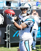 The Carolina Panthers played the New York Giants at Bank of America Stadium in Charlotte, NC.  The Panthers won 38-0 for their first victory of the season.  The Giants dropped to 0-3.  Carolina Panthers wide receiver Steve Smith (89)