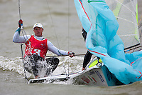 Nathan Outteridge, 49er, Day 4, May 27th, Delta Lloyd Regatta in Medemblik, The Netherlands (26/30 May 2011).