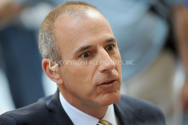 WWW.ACEPIXS.COM . . . . . .June 22, 2012...New York City...Matt Lauer on NBC's 'Today' at Rockefeller Center on June 22, 2012 in New York City.....Please byline: KRISTIN CALLAHAN - ACEPIXS.COM.. . . . . . ..Ace Pictures, Inc: ..tel: (212) 243 8787 or (646) 769 0430..e-mail: info@acepixs.com..web: http://www.acepixs.com .