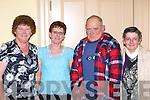 Margaret Moriarty, Teresa Clifford, Patrick Sweeney and Mary Sweeney Killorglin enjoying the Killorglin Pioneer social in the Manor Inn, Killorglin on Saturday night.   Copyright Kerry's Eye 2008