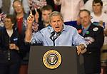 George W. Bush Midterm Campaign Visit  Images