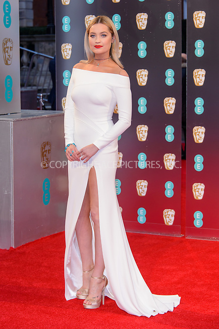 www.acepixs.com<br /> <br /> February 12 2017, London<br /> <br /> Laura Whitmore arriving at the 70th EE British Academy Film Awards (BAFTA) at the Royal Albert Hall on February 12, 2017 in London, England<br /> <br /> By Line: Famous/ACE Pictures<br /> <br /> <br /> ACE Pictures Inc<br /> Tel: 6467670430<br /> Email: info@acepixs.com<br /> www.acepixs.com