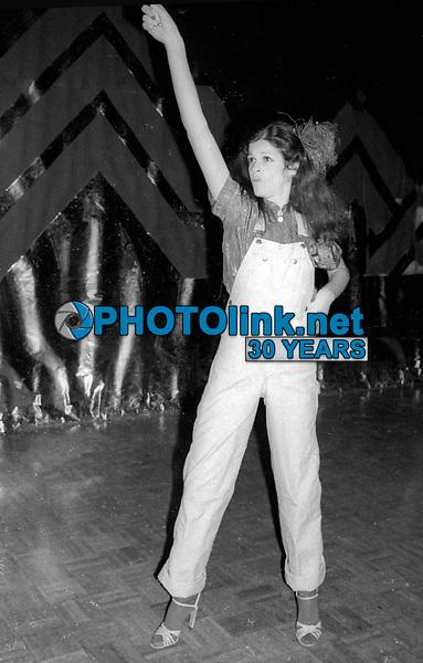 Gilda Radner at #Studio 54 1977<br /> Photo By Adam Scull/PHOTOlink.net