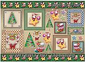 Weihnachten, Navidad, illustrations, pinturas